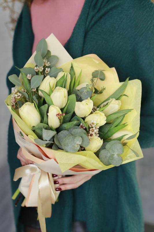 Букет из тюльпанов B0079