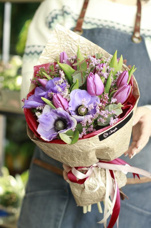 Букет цветов В0080-1