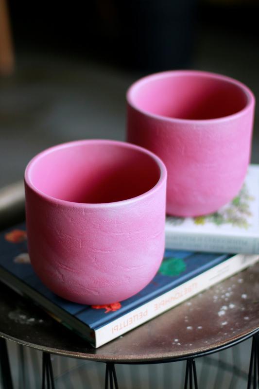 Кашпо для растений Mica Nora pink 1074647