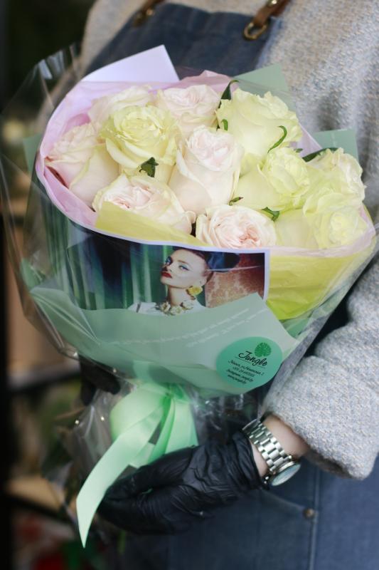 Букет роз А0051