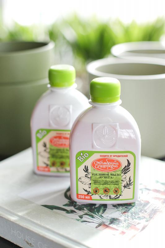 Зеленое (калийное) мыло