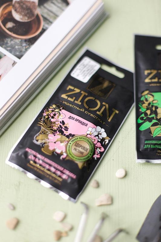 Ионитный субстрат Zion (цион) для комнатных орхидей (саше)