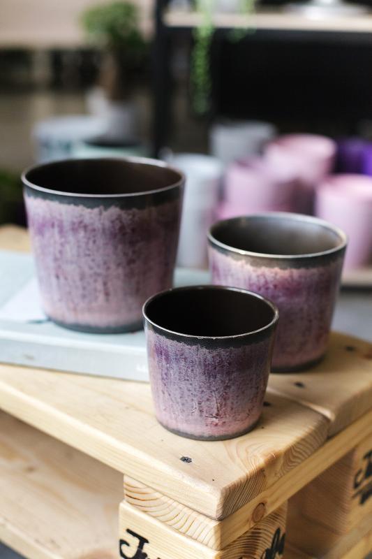 Кашпо для растений Malva glaze 15-870