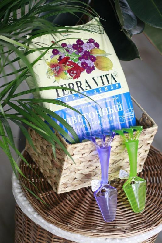 """Грунт для комнатных растений универсальный """"Terra vita"""" 5 л"""