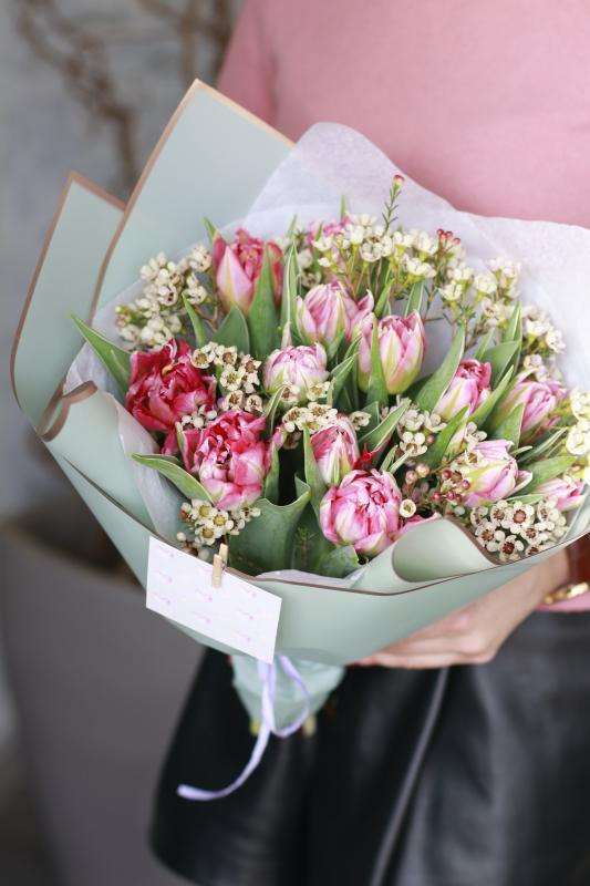 Букет из тюльпанов В0081