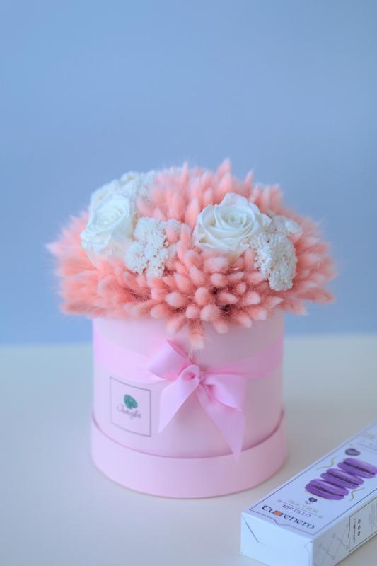 Коробка с сухоцветами Х011